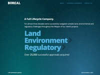 Boreal Land Website