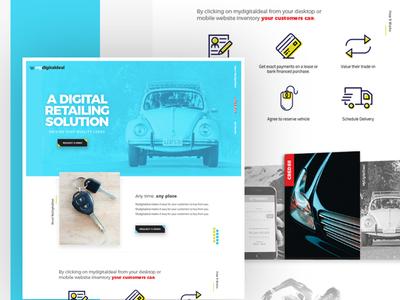 My Digital Deal Landing Page