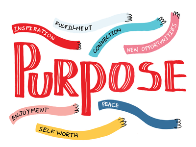 Purpose book branding typography handlettering design lettering illustration