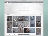 White Feather Designs Website