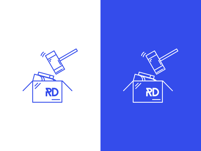 Rechten Dropbox logo illustration