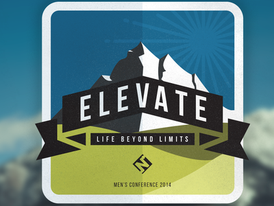 elevate - mens conference concept