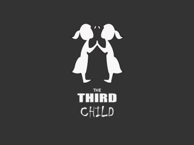The Third Child creative design unique design supernatural children ghost graphics modern design 2021 design illustrator minimal graphic design