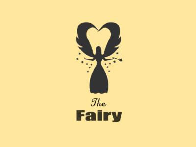The Fairy parlour beauty logo ladies cloting vector branding logo icon modern design minimal 2021 design illustrator graphic design