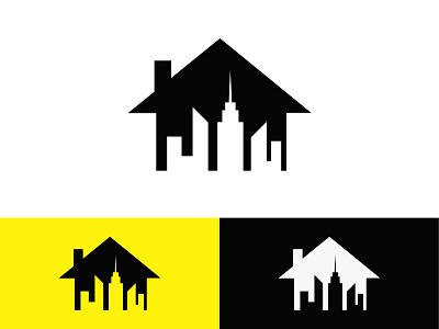 Real Estate Design building builders construction real estate logo illustration modern design minimal illustrator 2021 design graphic design