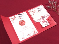 Chinese Invitation Card