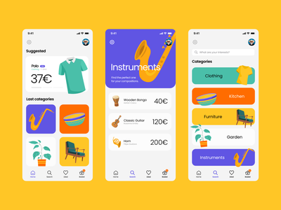 Mobile App e-commerce mobile uxdesign mobile design uiux animation motion colors mobile app design sketch mobile ui mockup designs ui minimal design
