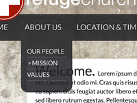 Refuge Navigation Detail