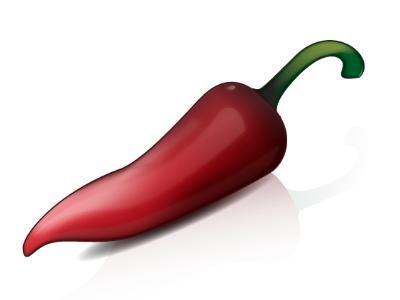 Chili Pepper Icon restaurant icon food icon icon design pure vector