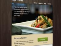 Ka-Prow Bistro Homepage