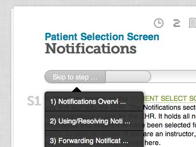 EHR Training Documentation cms health care reading application ehr web application design