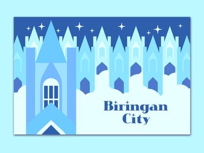 Biringan City Postcard