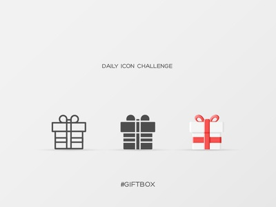 Daily Icon Challenge #giftbox #010