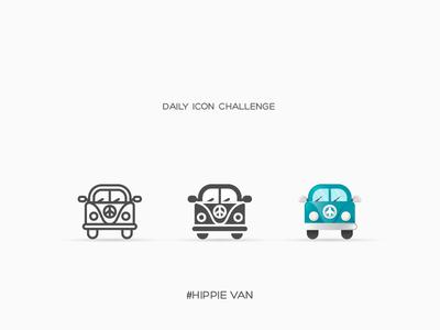 Daily Icon Challenge #van #020