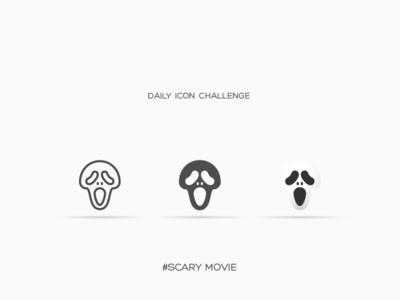 Daily Icon Challenge #scarymovie #021