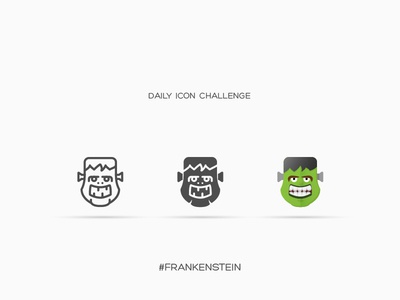 Daily Icon Challenge #frankenstein #022
