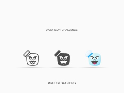 Daily Icon Challenge #ghostbusters #024