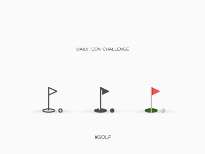 Daily Icon Challenge #golf#027