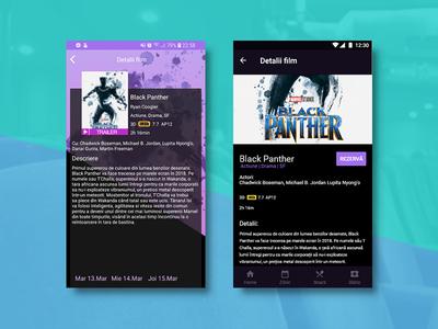 ~ Cinema App | Movie Details | Redesign Exercise ~