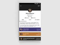 [WIP] Profile Screen
