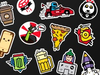Stickers dribbble