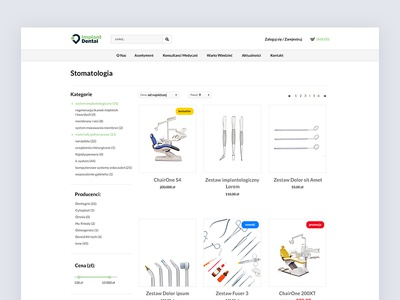 👨🏼‍🔬 Implant Dental - ecommerce startup dribbble principle ui dentist ux tech clean science white design webdesign