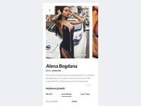 Hire Instagram model
