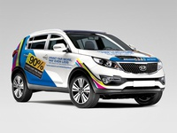 Epson Kia Sportage Wrap