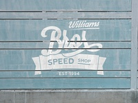 Williams Brothers Speed Shop Logo Concept