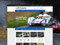 1st Tickets Homepage Concept