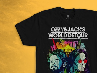 A+E Networks Apparel tee tour ozzy graphic print clothing apparel t shirt history ae networks