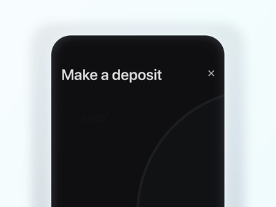 Payment app ios picker slider animation payment ui