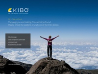 Kibo Commerce 404