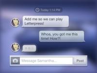 Messages Translucent