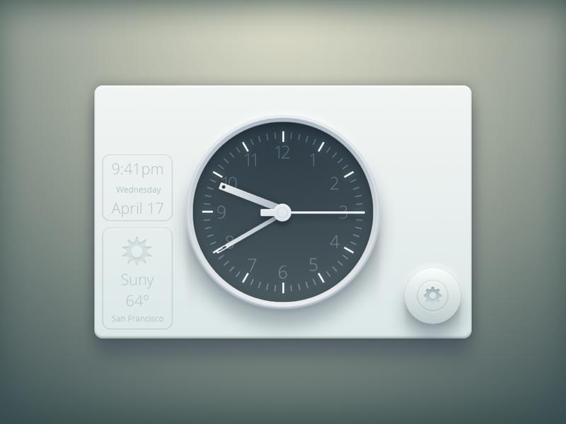 Clock 800