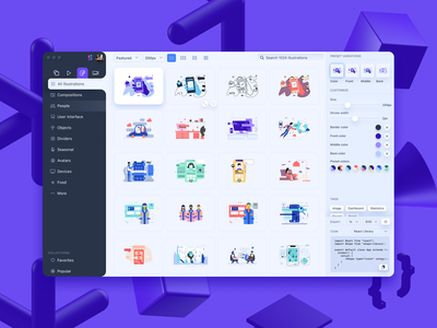 Shape 2 design editor web design