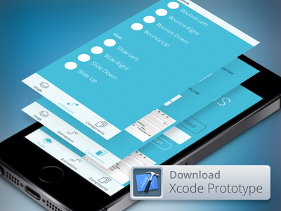 Canvas ios7 xcode animation web