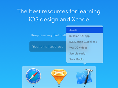 Design+Code Resources xcode sketch ios mac