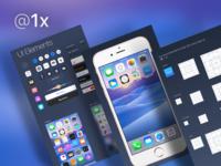 iOS 9 GUI @1x