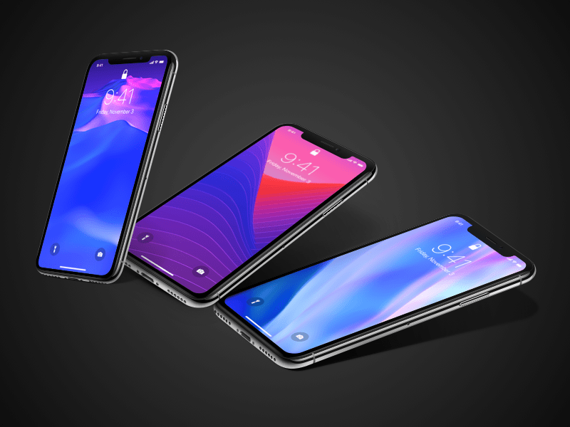 Iphone X Wallpapers By Meng To Dribbble Dribbble