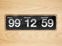 Wood Countdown