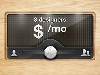 Dashboard dashboard ui design wood slider