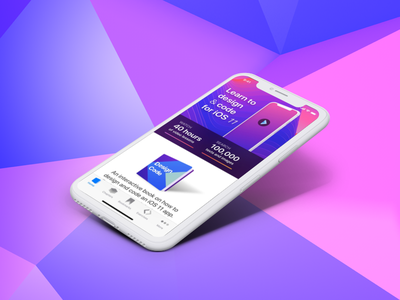 Design+Code 2 Release sketch iphone x ios 11 swift