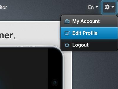 Settings ui design settings tooltip popover