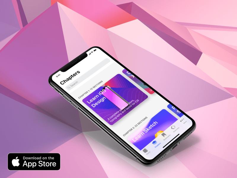 Design+Code iOS App xcode iphone x swift code design ios
