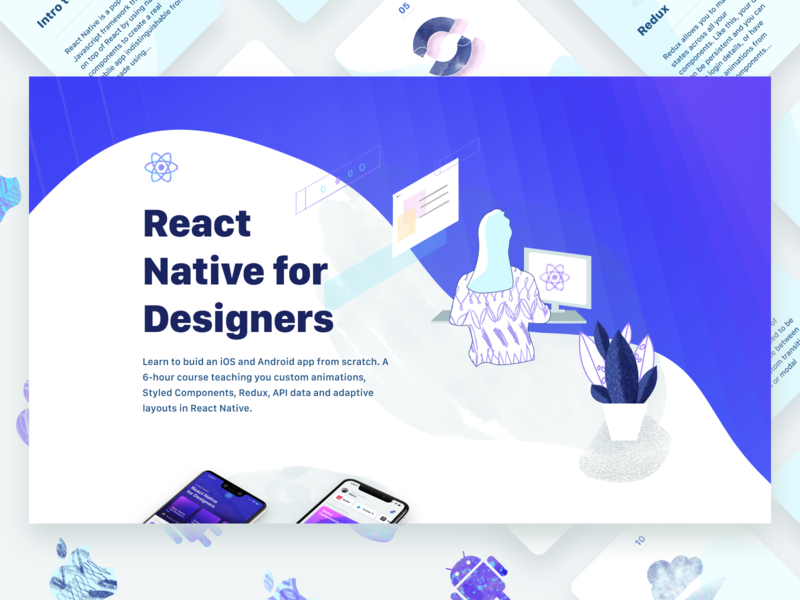 React Native for Designers by Meng To for Design+Code on