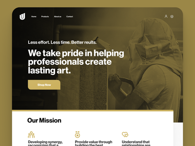 Landing Page design responsive brand landing page website web