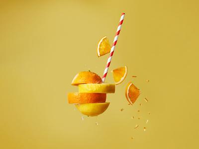 Happy Meal Series. Orange Lemonade vegan