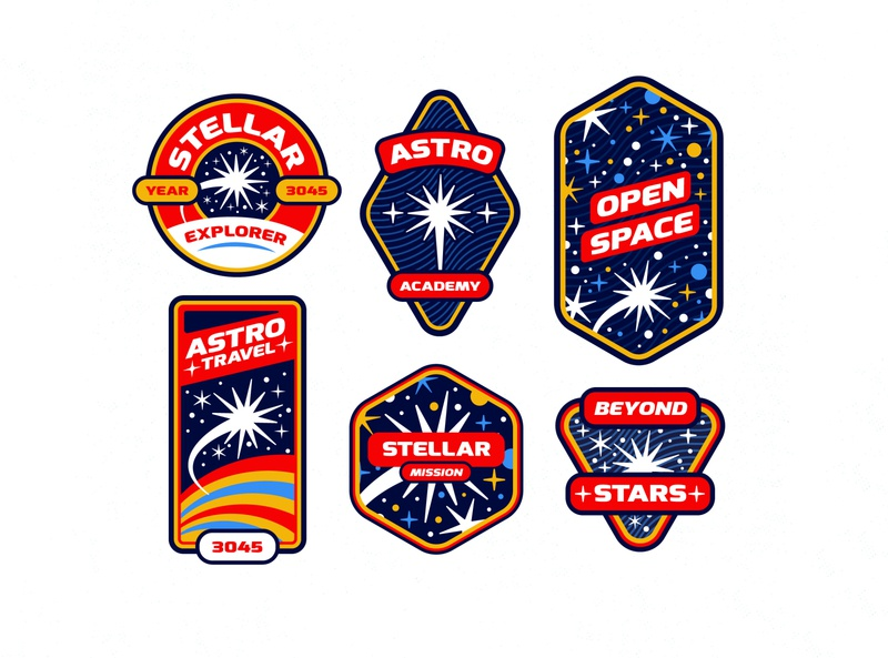 Space Badges