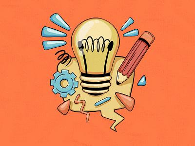 Helpful Tips illustration concept speech bubble speech fun design branding clean flat creative illustration product illustration